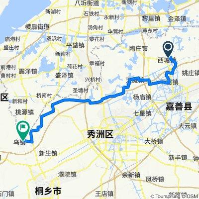 2. Xitang to wuzhen water wheel