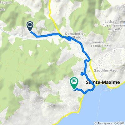 25 Rue des Inventions, Sainte-Maxime nach 8A Domaine de la Croisette, Sainte-Maxime