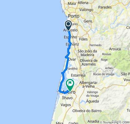 Aguda - Aveiro   Ferry São Jacinto