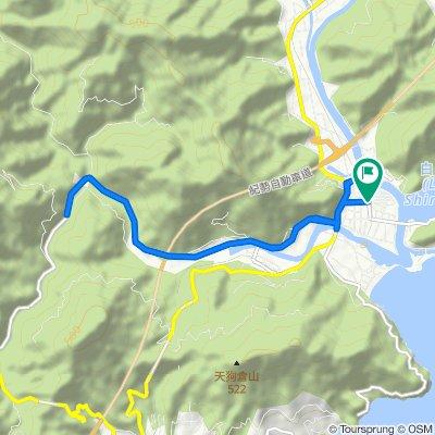 相賀からの銚子川
