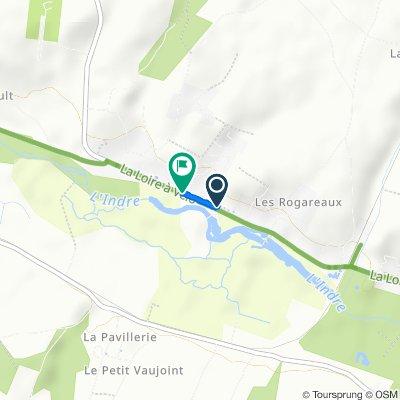 Da 56 Route de Langeais, Azay-le-Rideau a 60bis Route de Langeais, Azay-le-Rideau