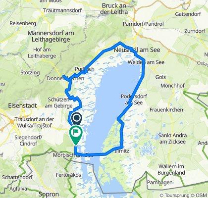 Seezeile 2, Rust nach B52, Mörbisch am See