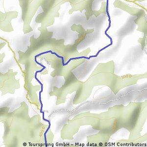 Montée Lanteuil-Brousse