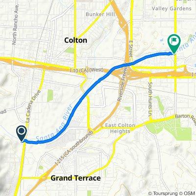 South La Cadena Drive 1403, Colton to South Waterman Avenue 1750, San Bernardino