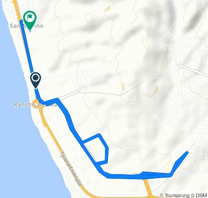 Autopista Tijuana-Ensenada, Playas de Rosarito to Privada San Marino, Tijuana