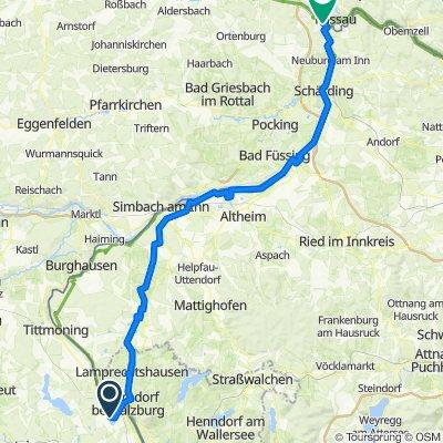 Abtsee 15, Laufen nach Schönauerweg 21, Passau