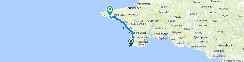 De 153–169 Quai du Général de Gaulle, Penmarch à 331 Route de Kerloa, Primelin