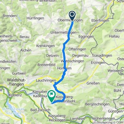 Unnamed Road, Ühlingen-Birkendorf nach Küferweg 11, Küssaberg