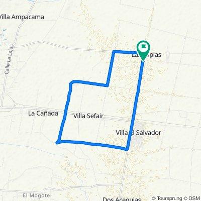 De Ruta Provincial 170 a Ruta Provincial 170