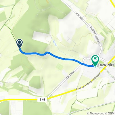Scheiferwee, Dippach to Rue du 9 Septembre 2, Dippach