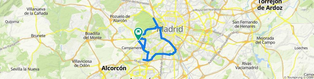 Llaneando por Madrid