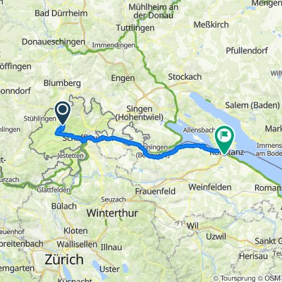 Randenhaus Siblingen nach Kreuzlingen