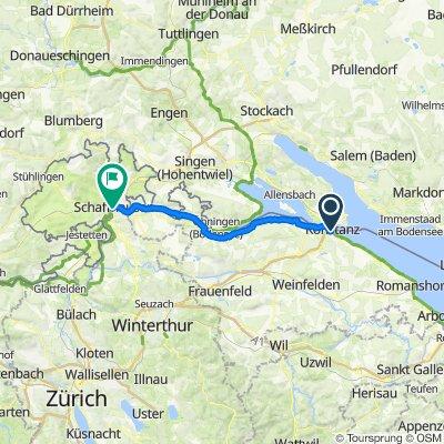 Konstanz - Schaffhausen