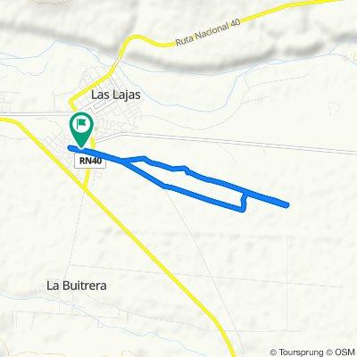 De Argentina, Las Lajas a Argentina, Las Lajas