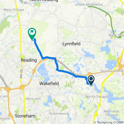 8 Liberty Ln, Lynnfield to 20 Dana Rd, Reading