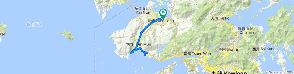 7 Nam Pin Wai Eastern Lane, Yuen Long to 10 Nam Pin Wai 1st Lane, Yuen Long