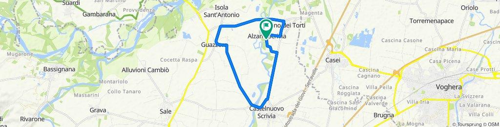 Da SP89 52, Alzano Scrivia a SP89 50, Alzano Scrivia