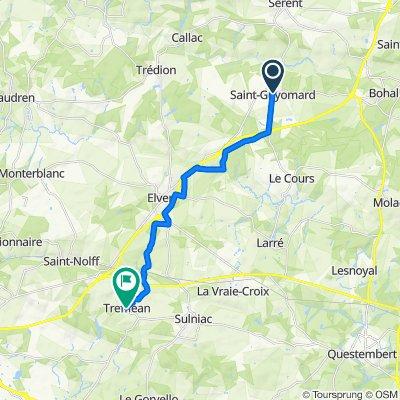 De 6 Rue de la Chapelle, Saint-Guyomard à 4 Rue Sainte-Apolline, Treffléan