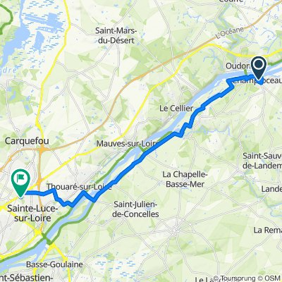 De 1–11 Le Clos Denis, Champtoceaux à 2 Rue des Citrines, Nantes