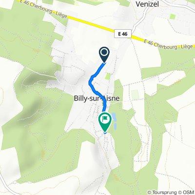 134 Rue du Bélier, Billy-sur-Aisne to 78–204 Rue d'Orque, Billy-sur-Aisne