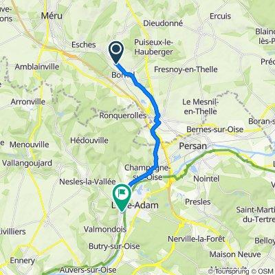 De 2 Rue Louis Denoual, Bornel à 4 Rue du Général de Gaulle, Parmain