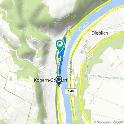 Kalkofen, Kobern-Gondorf nach Moselweg, Kobern-Gondorf