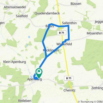 Badeler Straße 29A, Apenburg nach Badeler Straße 29A, Apenburg