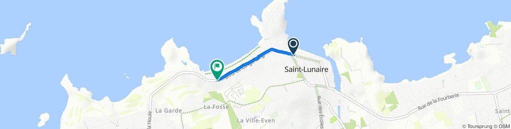 De 346 Boulevard du Général de Gaulle, Saint-Lunaire à Boulevard de Longchamp, Saint-Briac-sur-Mer