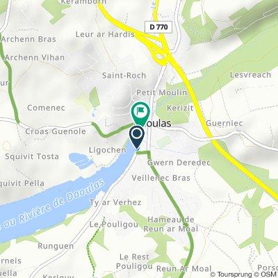 De 28 Rue du Valy, Daoulas à 7bis Rue du Valy, Daoulas