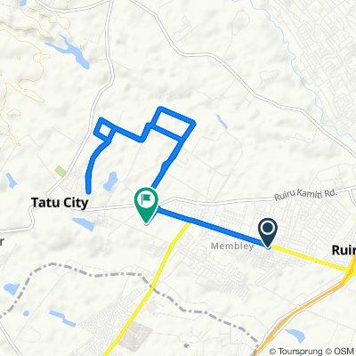 Eastern By Pass, Ruiru to Unnamed Road, Ruiru