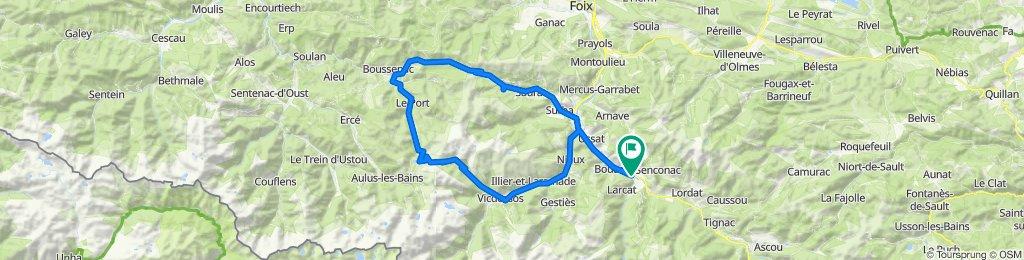 Les cabannes - Col de Port - Lers - Les Cabannes