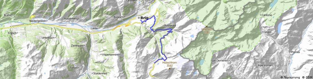 CH: Brig Simplon Pass