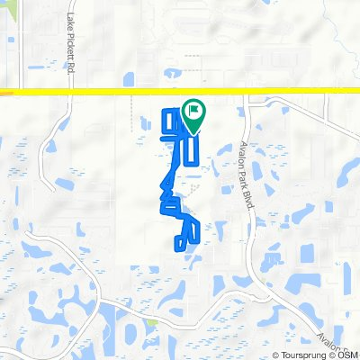14239 Acorn Ridge Dr, Orlando to 14235 Acorn Ridge Dr, Orlando