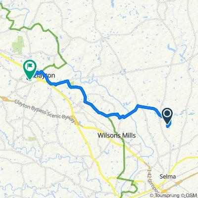 2–378 Godwin Ln, Selma to 124 Hocutt Dr, Clayton