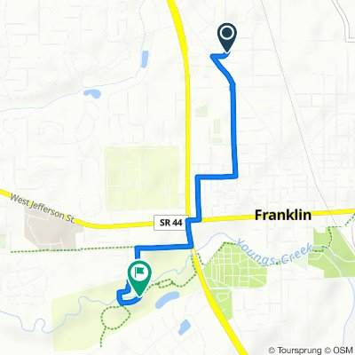 49 Circle Dr, Franklin to 405 Driftwood Ct, Franklin