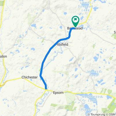 Epsom Circle 19 mile out & back