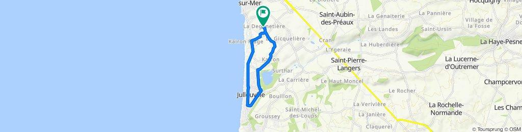 De 571 Route de la Deganetière, Saint-Pair-sur-Mer à 564 Route de la Deganetière, Saint-Pair-sur-Mer