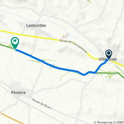 Itinéraire à partir de 25 D6113, Villepinte