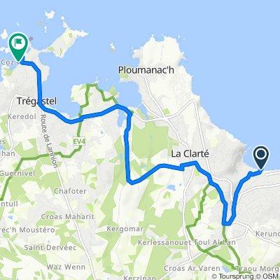 Itinéraire à partir de Boulevard Joseph Le Bihan, Perros-Guirec