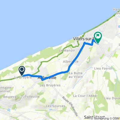 De 937 Route de la Corniche, Gonneville-sur-Mer à 34 Avenue de la Brigade Piron, Villers-sur-Mer