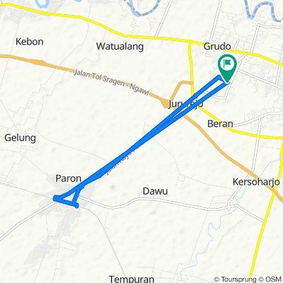 Padas, Kecamatan Ngawi to Padas, Kecamatan Ngawi