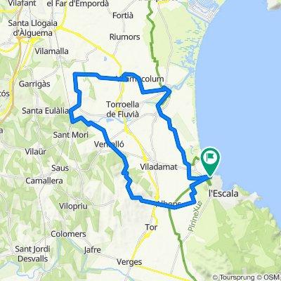 BTT L'Escala - Albons - Ventallo - Vilacolum - L'Escala