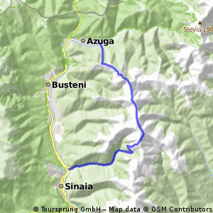 Short  & steep - from Sinaia to Azuga