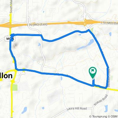 3020 Ridgetop Ct, O'Fallon to 3024 Ridgetop Ct, O'Fallon