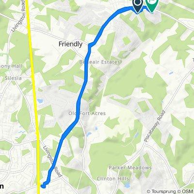 9508–9598 Pamelia Pl, Fort Washington to 3307 Tinkers Branch Way, Fort Washington