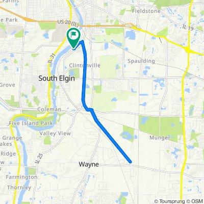 1507–1599 Riverview Dr, South Elgin to 1509 Riverview Dr, South Elgin