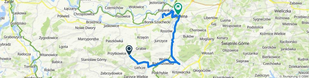 Przytkowice do Władysława Sikorskiego 11, Skawina
