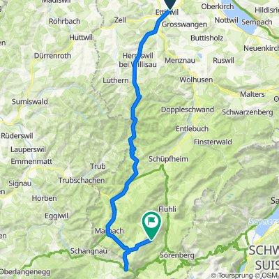 Rothmättli 7, Ettiswil nach Flühli