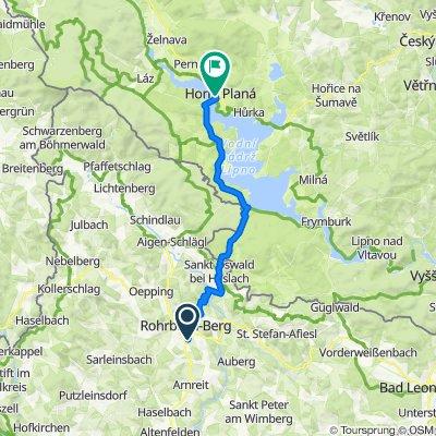 Rohrbach-Berg nach Oberplan