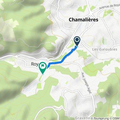De 10 Avenue de la Gare, Chamalières à 24 Rue Jean Grand, Royat